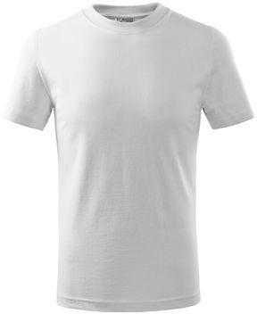 SMALLER dětské tričko, 160 g/m2, ADLER, bílá