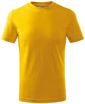 SMALLER dětské tričko, 160 g/m2, ADLER, žlutá