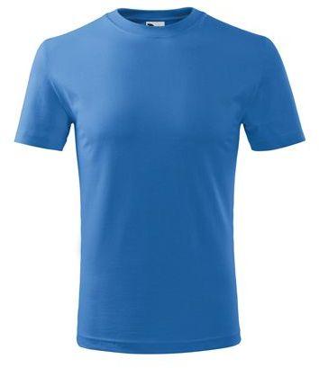 SMALLER dětské tričko, 160 g/m2, ADLER, azurově modrá