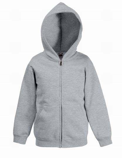 Dětská mikina Premium Hooded s kapucí a zipem