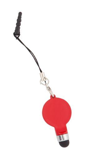 Downey červené dotykové pero s potiskem
