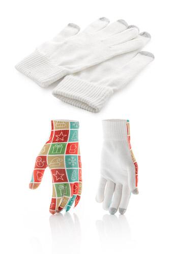 Subtium dotykové rukavice s potiskem