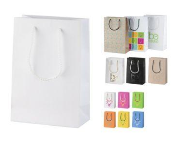 CreaShop S malá papírová nákupní taška na zakázku