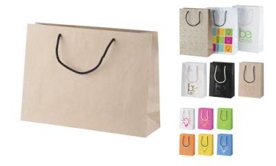 CreaShop H horizontální papírová nákupní taška na zakázku s potiskem