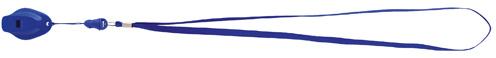 Colina modrá píšťalka s potiskem