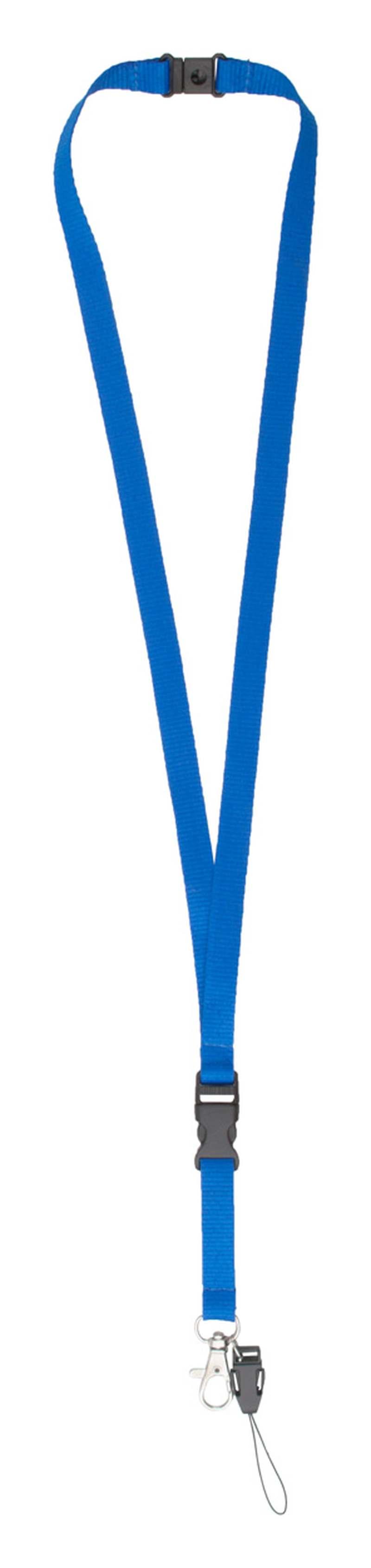 Briol modrý lanyard