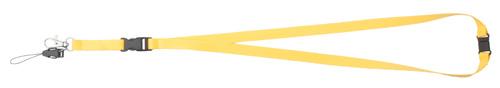 Briol žlutý lanyard s potiskem