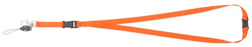 Briol oranžový lanyard