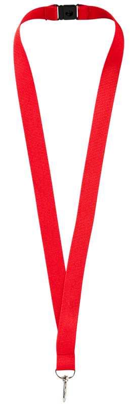 Lanyard červený