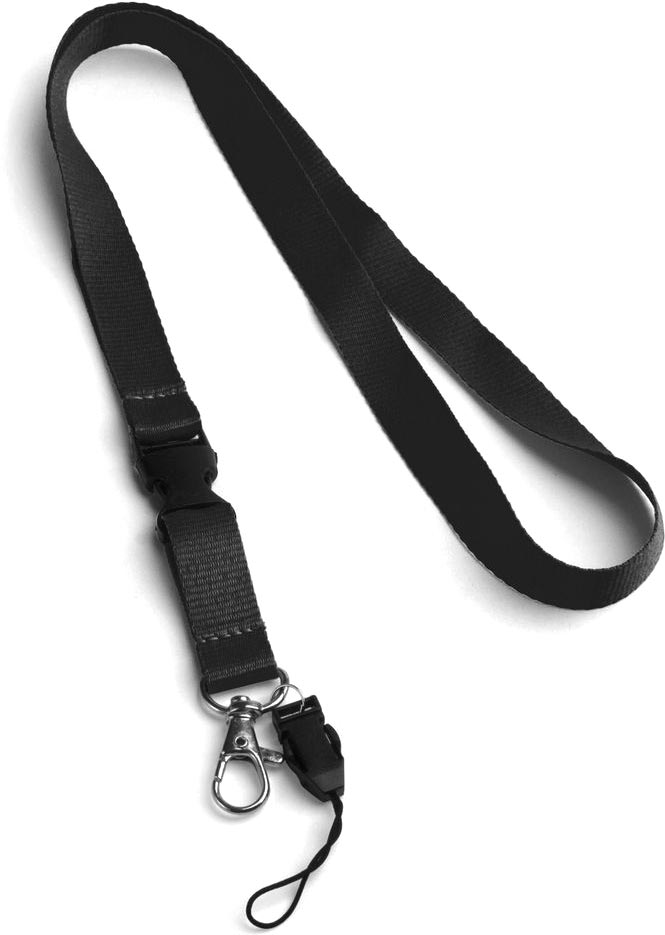 Šňůrka na krk černá