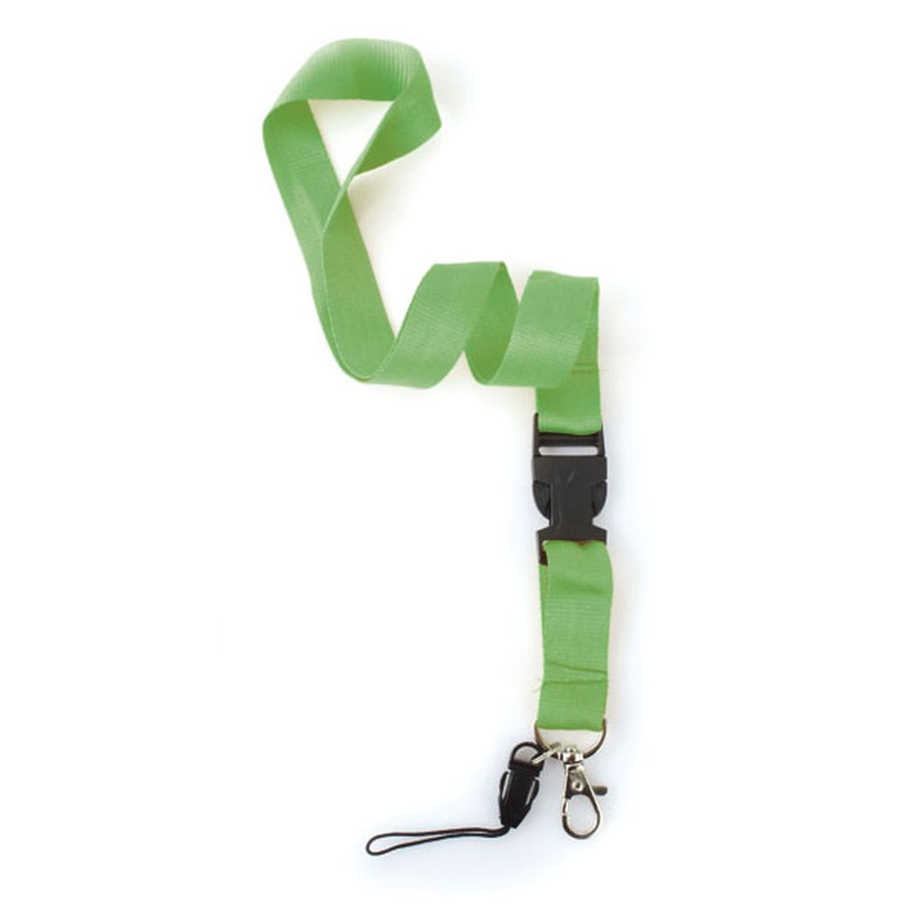 Dvojdílná šňůrka na krk zelená