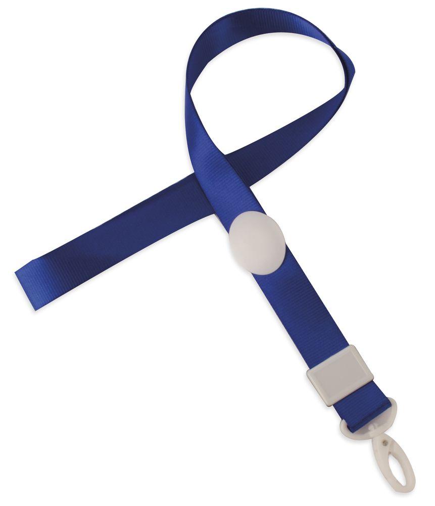 Nastavitelná šnůrka na krk modrá