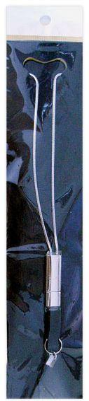 Klíčenka na krk TINKA černá