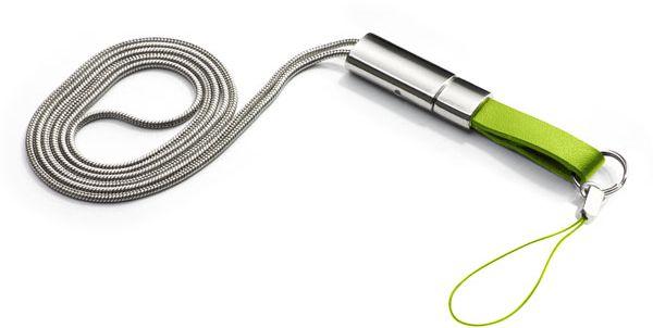 Klíčenka na krk TINKA zelená