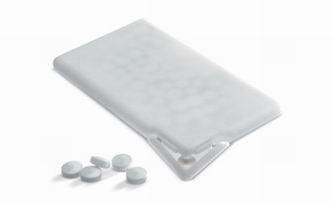 Krabička s mentolovými bonbóny (cca 50 ks)