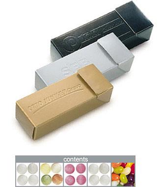 Mintový box stříbrný