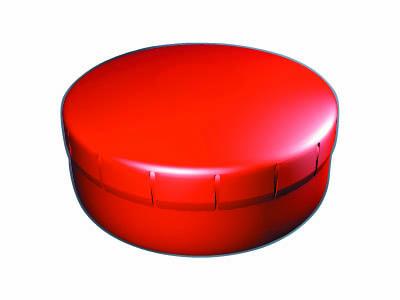 Clik Clak 45 mm červený