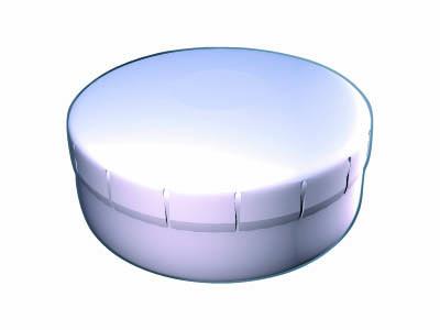 Clik Clak 45 mm bílý