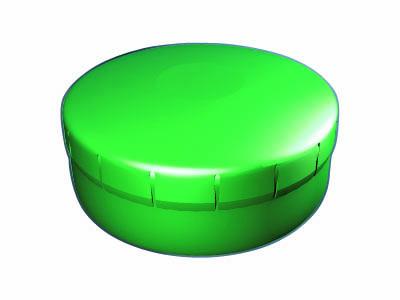 Clik Clak 45 mm zelený