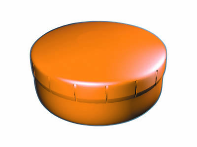 Clik Clak 45 mm oranžový
