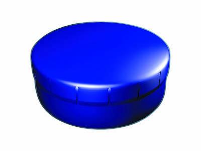 Clik Clak 45 mm tmavě modrý