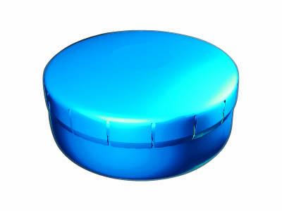 Clik Clak 45 mm nebesky modrý