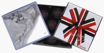 Čokoládové bonbony - dárkové balení 77 g s potiskem
