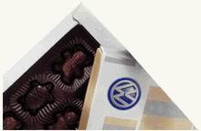 Čokoládové bonbony - dárkové balení 220 g s potiskem