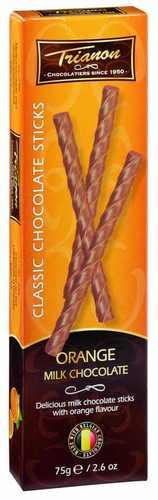Čokoládové tyčinky s pomerančovou příchutí 75 g