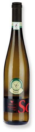 SAUVIGNON víno originální certifikace,polosuché, 750 ml, LAHOFER s potiskem