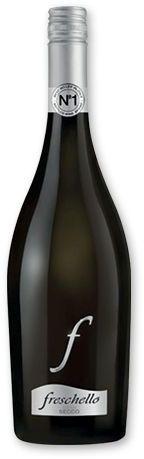 FRESCHELLO FRIZZANTE BIANCO italské šumivé víno Freschello Frizzante Bianco Semi Secco, 750 ml s potiskem