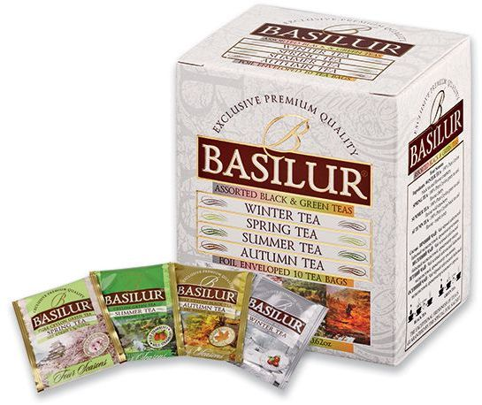 LITTLE SEASON směs černého a zeleného čaje, 10 ks čajových sáčků, 17,5 g