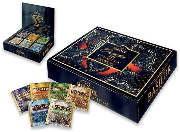 MYSTIC BOX dárk. krabice černých a zelených čajů, 6x 10 čajových sáčků, 110 g s potiskem