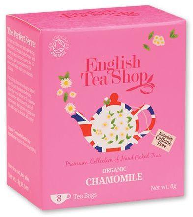 LITTLE CHAMOMILE BIO heřmánkový čaj - 8 sáčků, 8 g, růžová