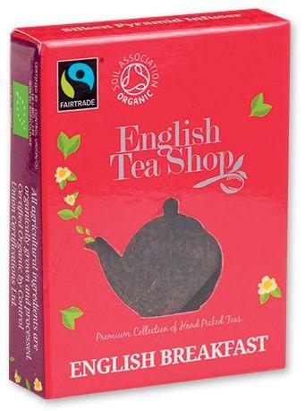 MINI TEA BIO pyramidový čaj v krabičce, 1ks - english breakfast, červená