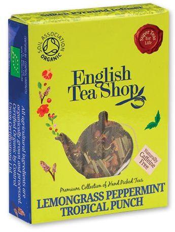 MINI TEA BIO pyramidový čaj v krabičce, 1ks - cit.tráva,máta,tropické ovoce, citronová