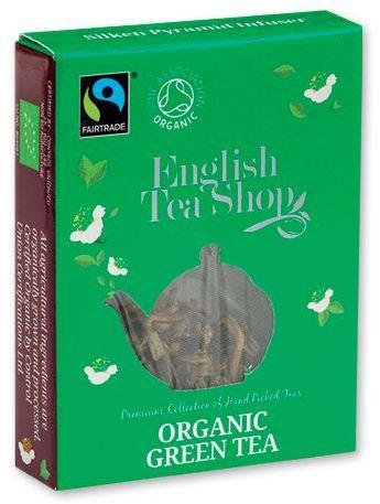 MINI TEA BIO pyramidový čaj v krabičce, 1ks - zelený čaj, zelená