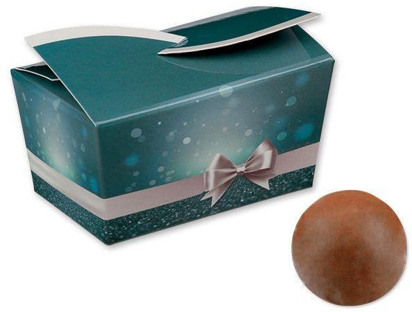 SWEET BLUE italské pralinky z mléčné čokolády s oříškovou příchutí, 32 g, modrá