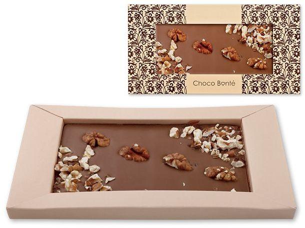 MILK NUTS mléčná čokoláda s ořechy, 90 g s potiskem