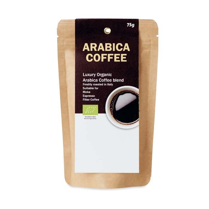 Mletá bio káva Arabica 75g