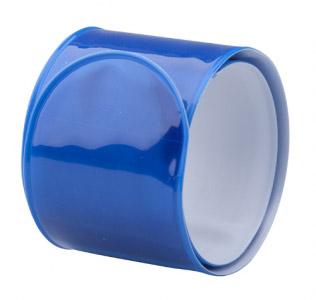 Modrá reflexní páska 23,5 cm s potiskem