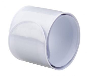 Bílá reflexní páska 23,5 cm
