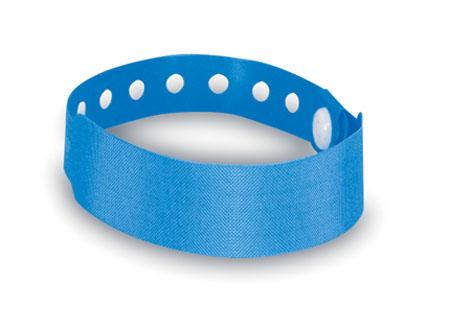 Modrá identifikační páska na ruku