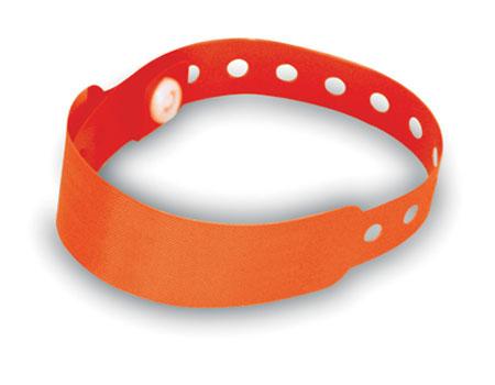 Červená identifikační páska na ruku