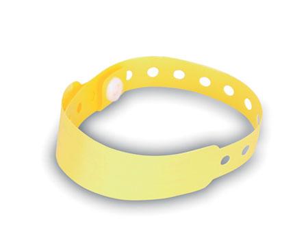 Žlutá iIdentifikační páska na ruku