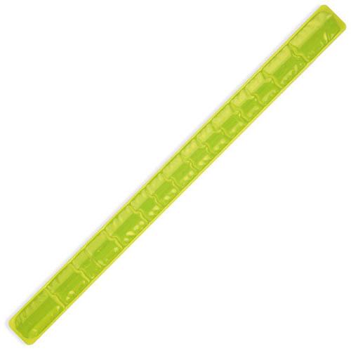 Žlutý reflexní náramek 40 cm s potiskem