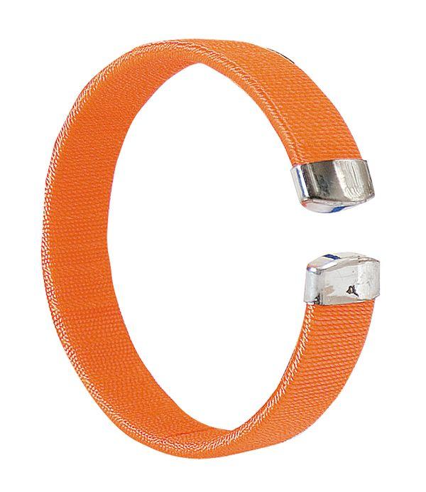 Arien oranžový náramek s potiskem