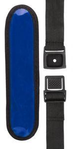 Lesnak modrá reflexní páska s potiskem