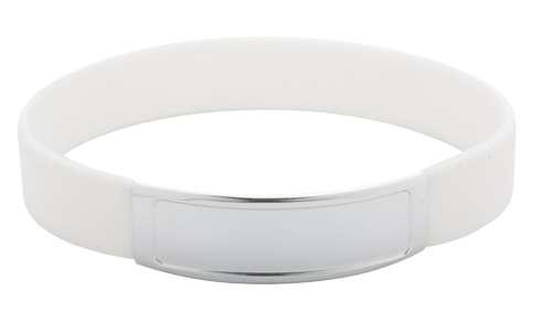 Truddy bílý pásek na ruku