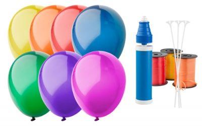 CreaBalloon balonky v lesklých barvách s potiskem